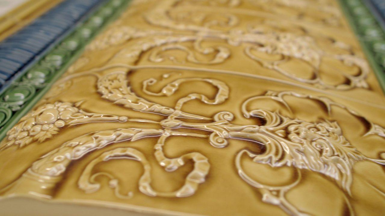 Craven Dunnill Jackfield Custom Handmade Tiles Ceramics Since 1872